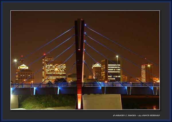 Edwin C. Moses Blvd. bridge, Dayton, Ohio